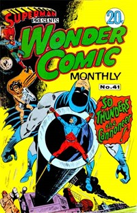 Superman Presents Wonder Comic Monthly (Colour Comics, 1965 series) #41 ([September 1968?])
