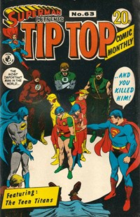 Superman Presents Tip Top Comic Monthly (Colour Comics, 1965 series) #63 — No title recorded