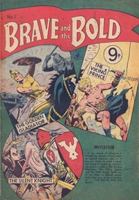 The Brave and the Bold (Colour Comics, 1956 series) #1 ([February 1956])