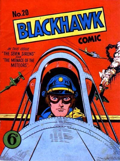 Blackhawk Comic (Youngs, 1948 series) #20 ([July 1950?])