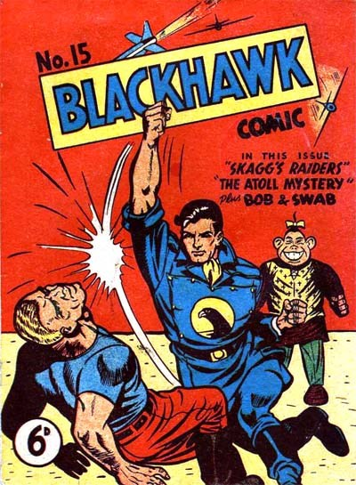 Blackhawk Comic (Youngs, 1948 series) #15 ([August 1950?])