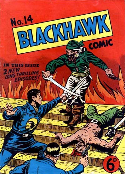 Blackhawk Comic (Youngs, 1948 series) #14 ([July 1950?])