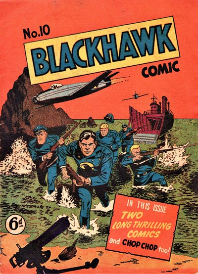 Blackhawk Comic (Youngs, 1948 series) #10 ([September 1949?])