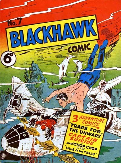 Blackhawk Comic (Youngs, 1948 series) #7 ([December 1949?])