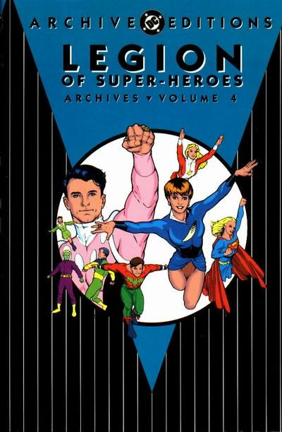 The Legion of Super-Heroes Archives (DC, 1991 series) #4 (January 1994)