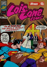 Lois Lane Comic (KGM, 1975 series) #118 — The Cheat the Whole World Cheered!
