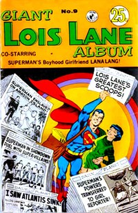 Giant Lois Lane Album (Colour Comics, 1964 series) #9 — No title recorded