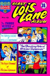 Giant Lois Lane Album (Colour Comics, 1964 series) #13 — The Three Wives of Superman!