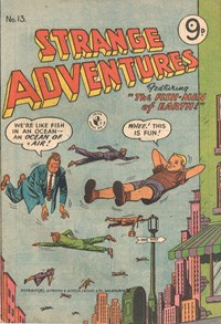 The Fish-Men of Earth!, Page 1—Strange Adventures (Colour Comics, 1954 series) #13  ([September 1955])