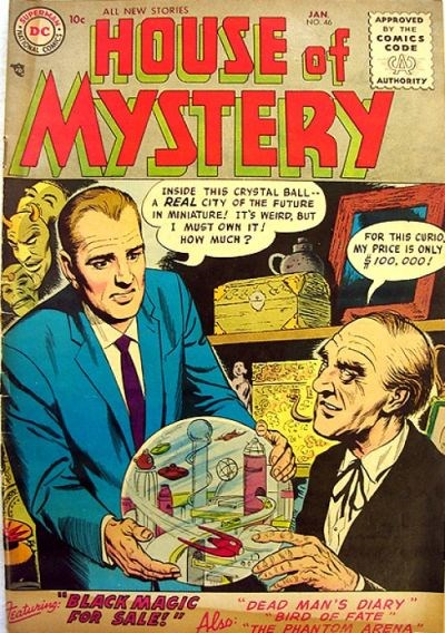 House of Mystery (DC, 1951 series) #46 (January 1956)
