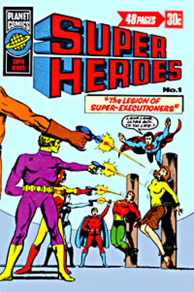 Super Heroes (KG Murray, 1976 series) #1 ([July 1976?])