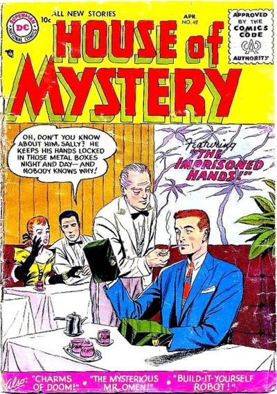 House of Mystery (DC, 1951 series) #49 (April 1956)