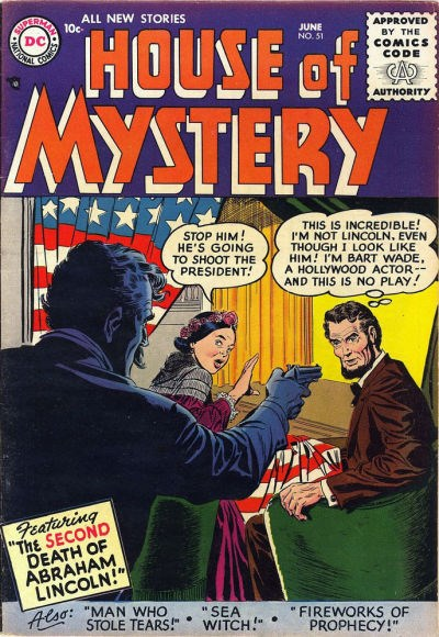 House of Mystery (DC, 1951 series) #51 (June 1956)