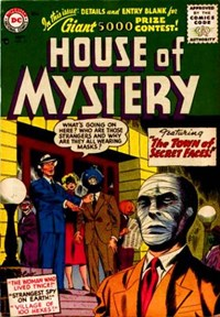 House of Mystery (DC, 1951 series) #54 (September 1956)