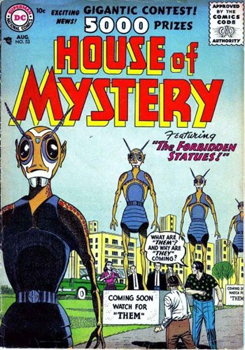 House of Mystery (DC, 1951 series) #53 (August 1956)