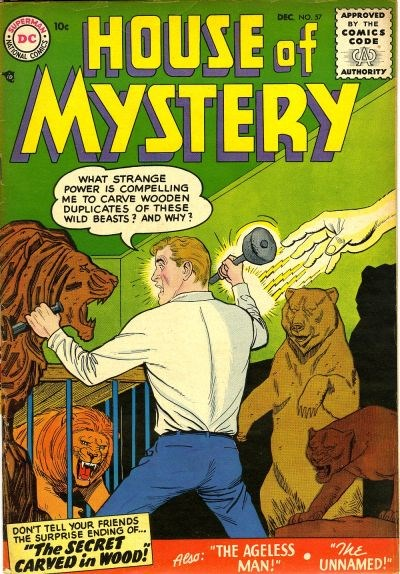 House of Mystery (DC, 1951 series) #57 (December 1956)