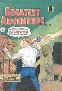 My Greatest Adventure (Colour Comics, 1955 series) #26 ([May 1957?])