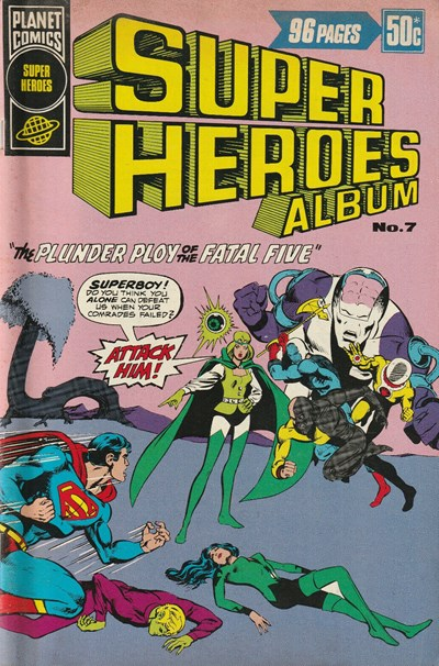 Super Heroes Album (Murray, 1977 series) #7 ([September 1977?])