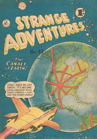 Strange Adventures (Colour Comics, 1954 series) #43 — The Canals of Earth