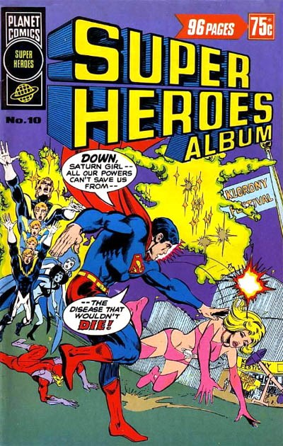 Super Heroes Album (Murray, 1977 series) #10 ([June 1978?])