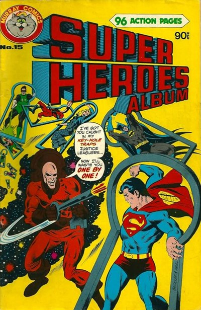 Super Heroes Album (Murray, 1977 series) #15 (April 1980)