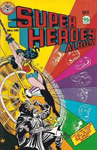 Super Heroes Album (Murray, 1977 series) #16 — The Unlucky Seven!