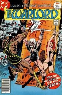 The Warlord (DC, 1976 series) #7 (June-July 1977)