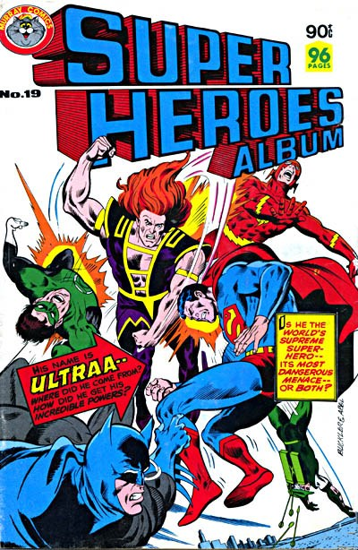 Super Heroes Album (Murray, 1977 series) #19 ([February 1981?])