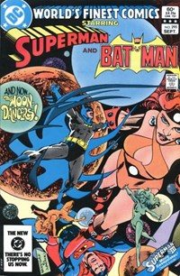 World's Finest Comics (DC, 1941 series) #295 — And Now... The Moon Dancers!