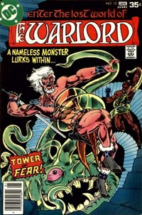 The Warlord (DC, 1976 series) #10 (December 1977-January 1978)