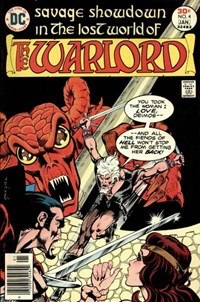 The Warlord (DC, 1976 series) #4 (December 1976-January 1977)