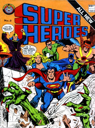 Super Heroes (Federal, 1983 series) #2 (March-April 1983)