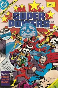 Super Powers (Federal, 1985 series) #5 — Final Combat with Darkseid