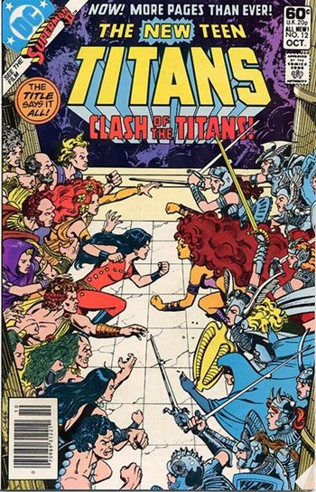 The New Teen Titans (DC, 1980 series) #12 (October 1981)