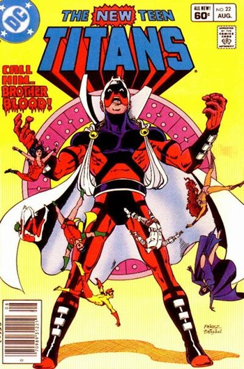 The New Teen Titans (DC, 1980 series) #22 (August 1982)