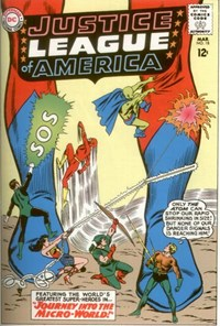 Justice League of America (DC, 1960 series) #18 — Journey into the Micro-World!