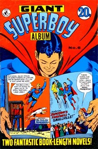 Giant Superboy Album (Colour Comics, 1965 series) #6 — No title recorded