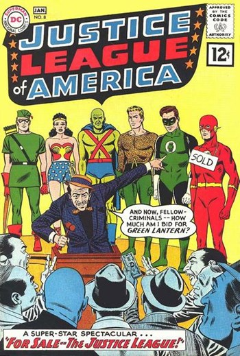 Justice League of America (DC, 1960 series) #8 (December 1961-January 1962)
