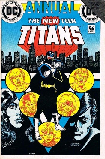 The New Teen Titans Annual