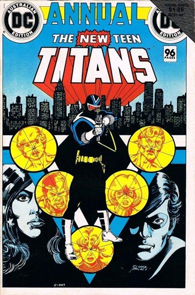 The New Teen Titans Annual (Federal, 1985 series)  ([October 1984?])