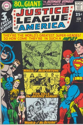 Justice League of America (DC, 1960 series) #58 (November-December 1967)