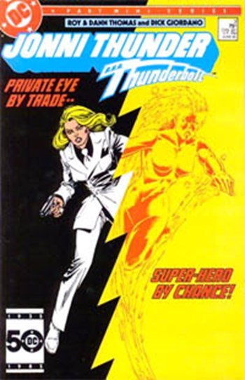 Jonni Thunder (DC, 1985 series) #3 (June 1985)