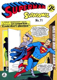 Superman Supacomic (Colour Comics, 1959 series) #71 — No title recorded