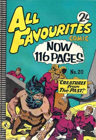 All Favourites Comic (Colour Comics, 1960 series) #20 ([August 1960?])