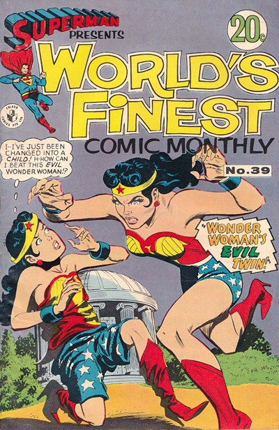 Superman Presents World's Finest Comic Monthly (Colour Comics, 1965 series) #39 (July 1968)