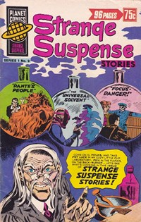 Planet Series 1 (Murray, 1977 series) #9 ([May 1978?]) —Strange Suspense Stories