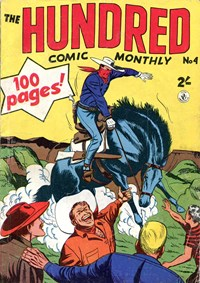 The Hundred Comic Monthly (Colour Comics, 1956 series) #4 — No title recorded