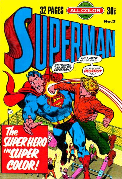Superman (KG Murray, 1977 series) #3 ([May 1977?])