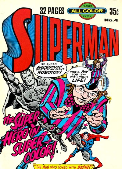 Superman (KG Murray, 1977 series) #4 ([July 1977?])