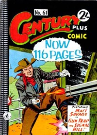 Century Plus Comic (Color Comics, 1960 series) #61 — Gun-Trap on Signal Hill!